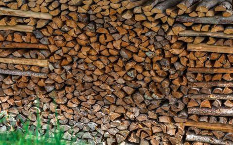 Aux flancs de presque tous les chalets beaufortains, une réserve de bois de chauffage