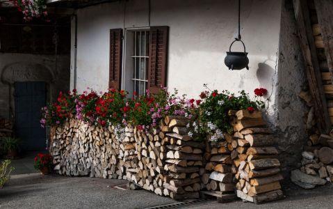 Le Praz, réserves hivernales et joies estivales