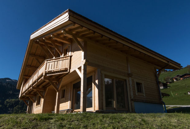 Location de chalet en Beaufortain. Chalet Frison location option Clémence